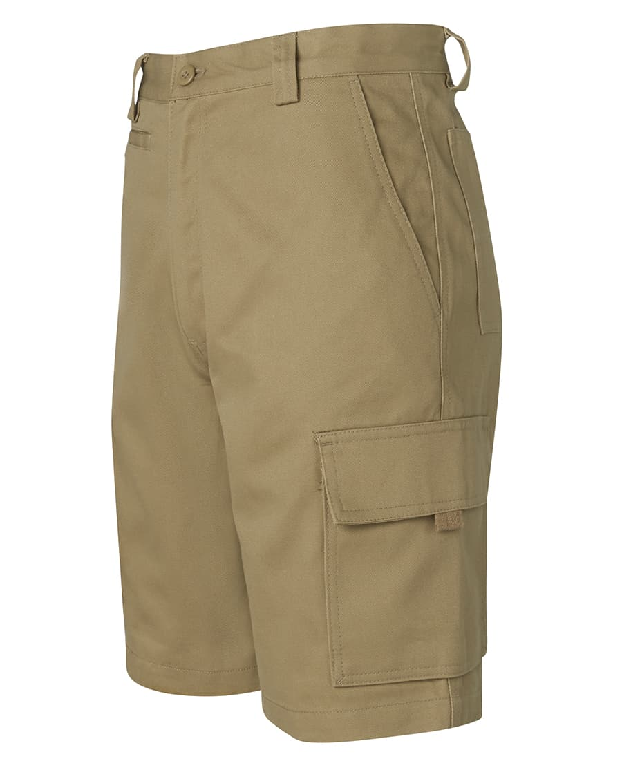 6NMS JB's Standard weight Cotton Drill Cargo Shorts Khaki
