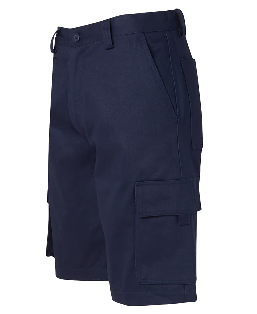 6NMS JB's Standard weight Cotton Drill Cargo Shorts Navy