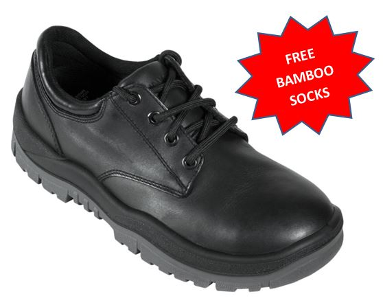 210025 Mongrel Steel Capped Derby lace up work shoe