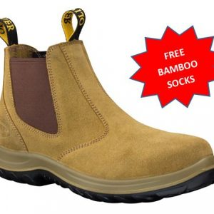 34624 Oliver Elastic Sided Steel Capped Work Boot