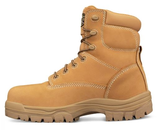 45632 Oliver AT45 Series Composite Capped Mid Cut Work Boot Wheat