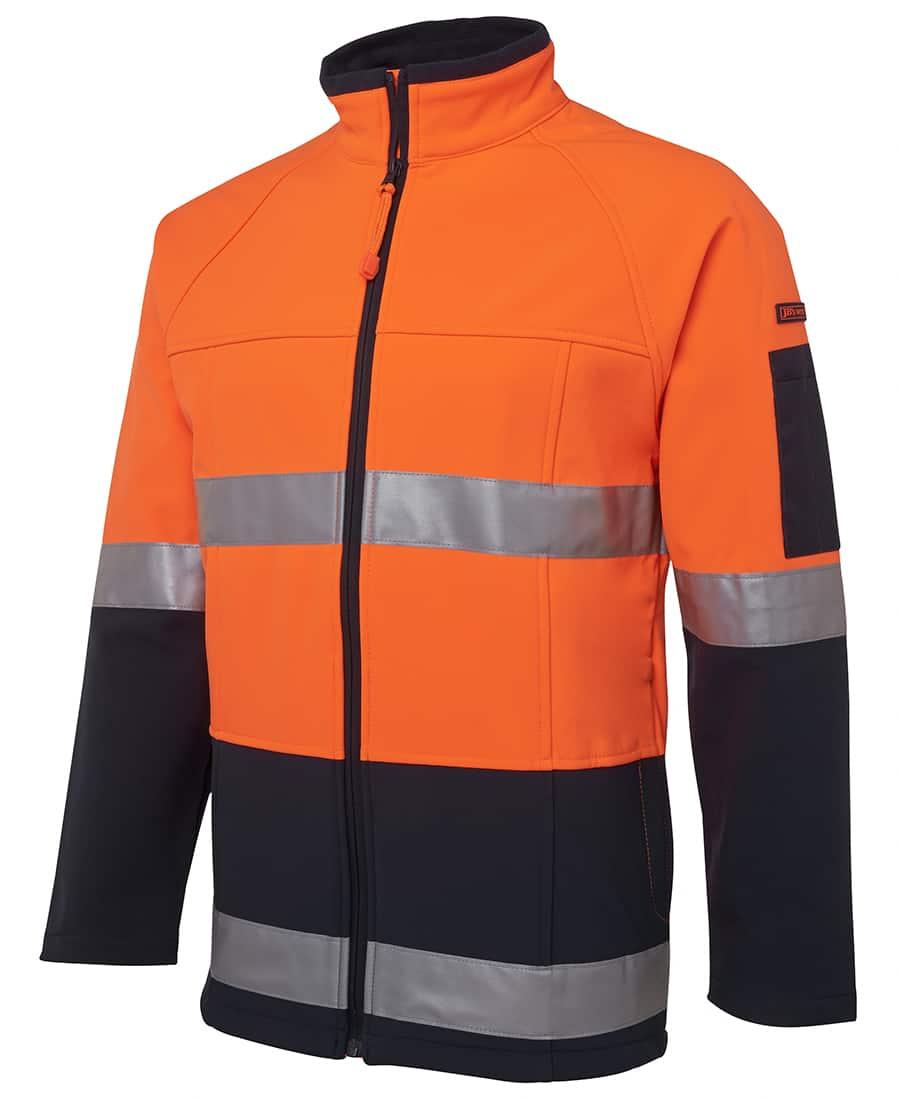 6D4LJ JB's Hi Vis Soft Shell Jacket Orange