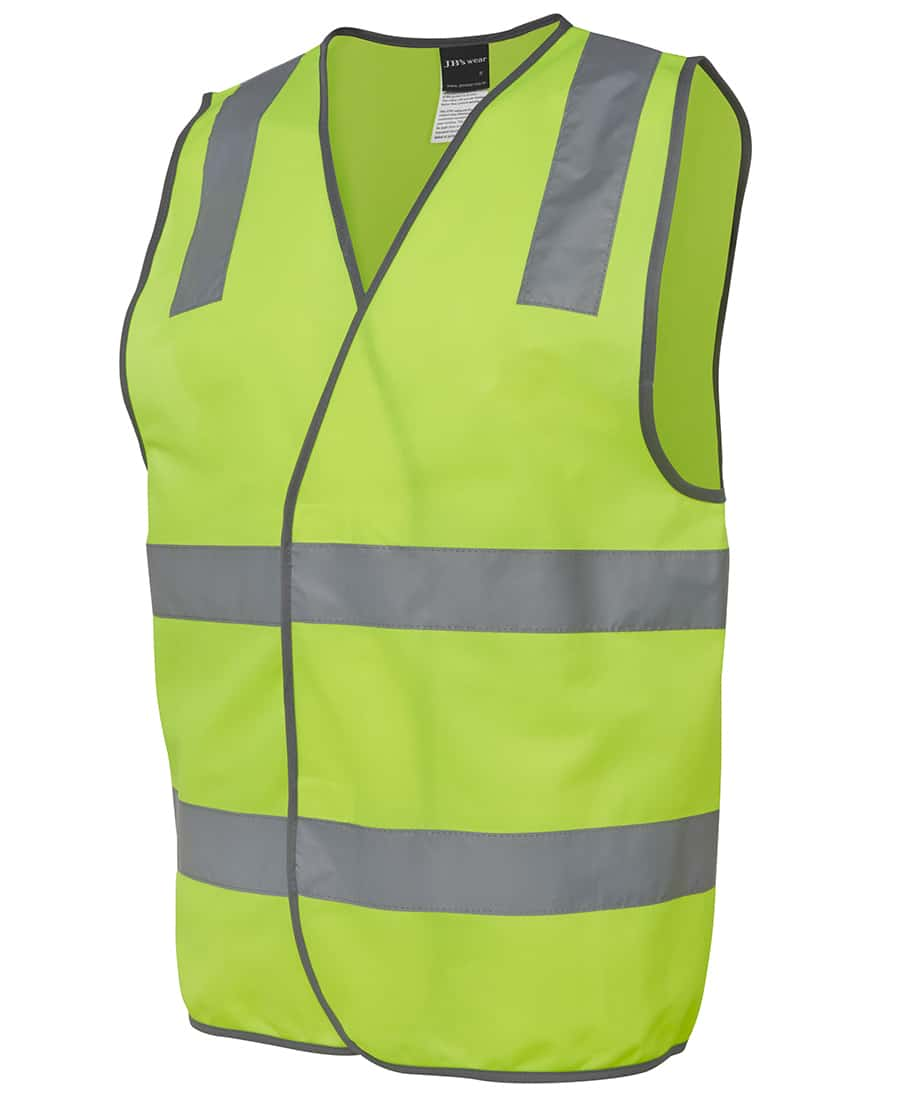 6DNSV JB's Hi Visibility Day and Night Vest Yellow