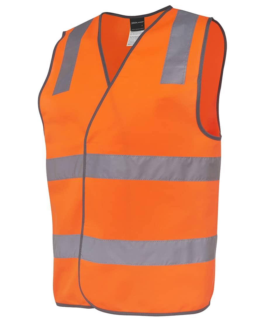 6DNSV JB's Hi Visibility Day or Night Vest Orange