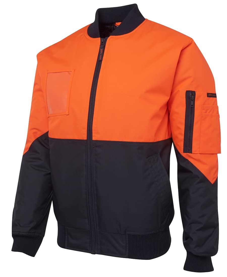 6HVFJ JB's Hi Vis Flying Jacket orange