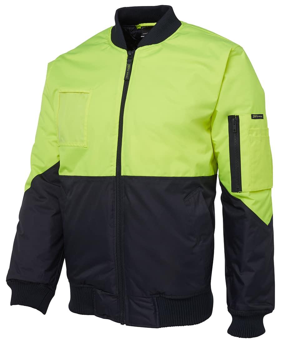 6HVFJ JB's Hi Vis Flying Jacket yellow