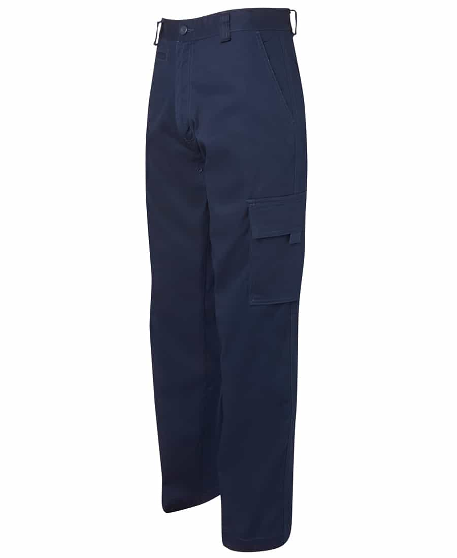 6LMP JB's Lightweight Cotton Drill Cargo Pants navy