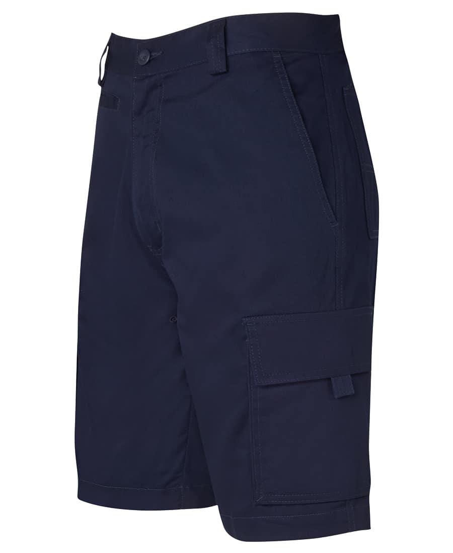 6LMS JB's Lightweight Cotton Drill Cargo Shorts navy