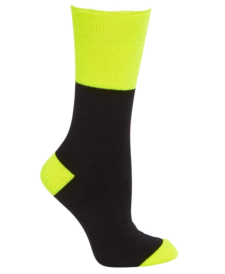 6WWS JB's Work Sock 3 Pack blackyellow