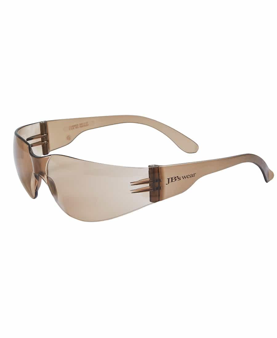 8H001 JB's Spec Saver Safety Glasses brown