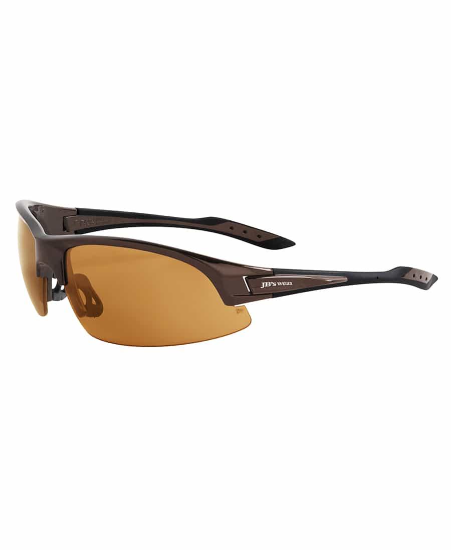 8H060 JB's Polarised Safety Spec brown