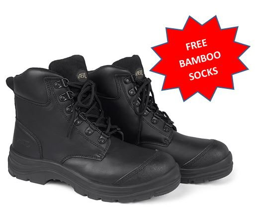 9F4 JB's Lace up Ankle sided Boot