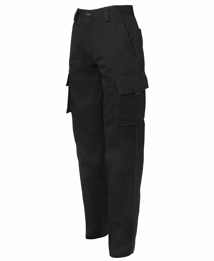 JB's 6NMP Standard weight Cotton Drill Cargo Pants Black