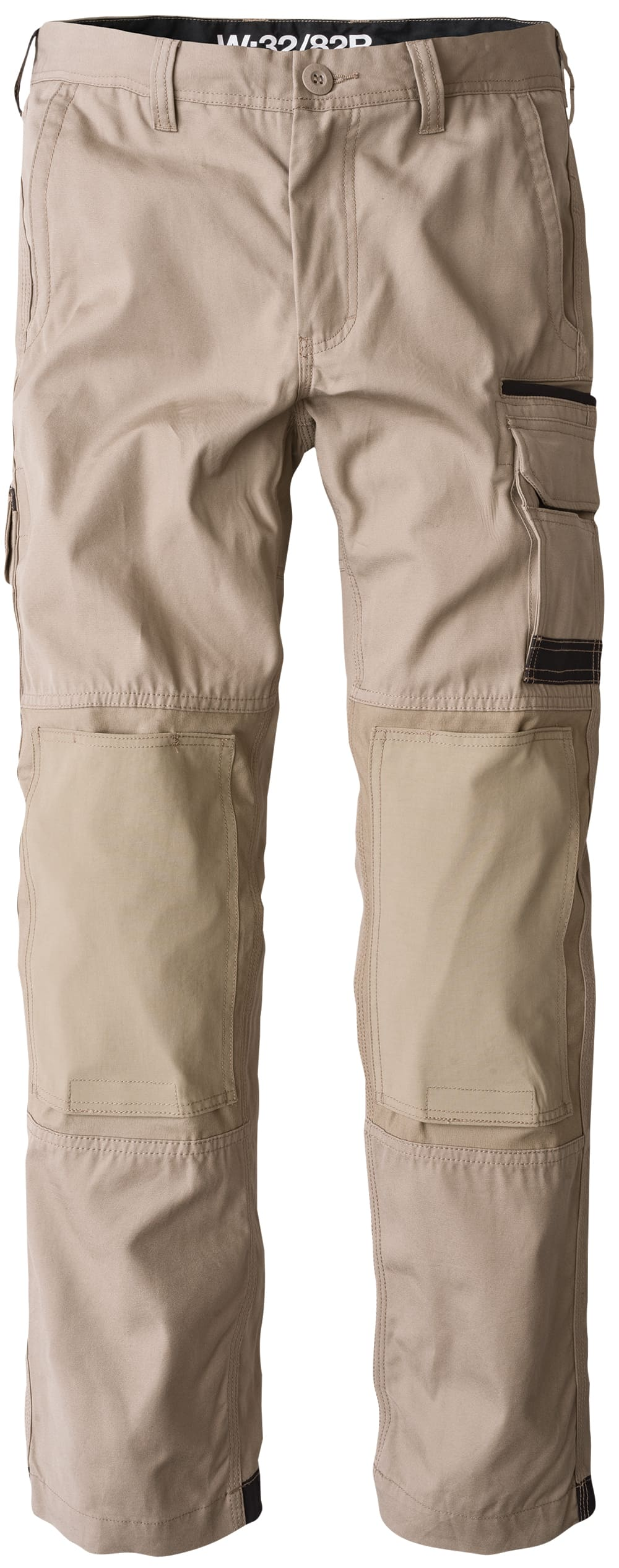 WP-1 FXD Standard weight Cotton Drill Cargo Pants KHAKI
