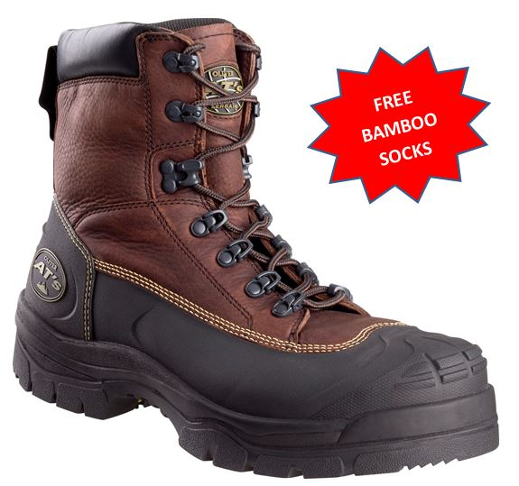 65390 65-390 Oliver work boot Mechanics oil protection