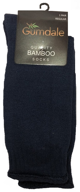 bamboo work socks gumdale navy regular king
