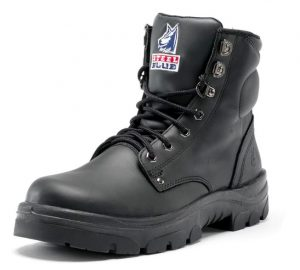 322102 Steel Blue Steel Cap Boot Black 15 16