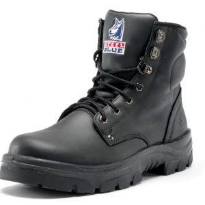 322102 Steel Blue Steel Cap Boot Black 15 16