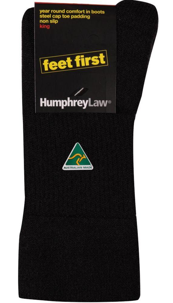 32C_009 Humphrey Law Feet First Sock Black