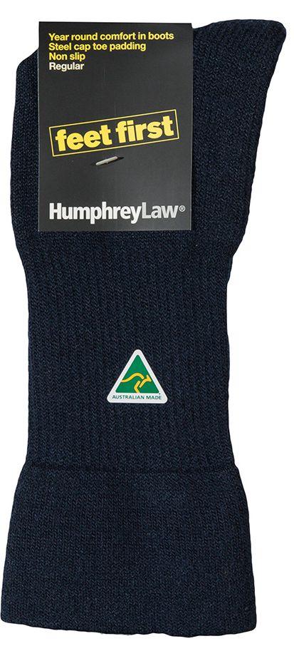 32C_009 Humphrey Law Feet First Sock Navy