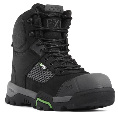 FXD WB-1 Workboot Black front