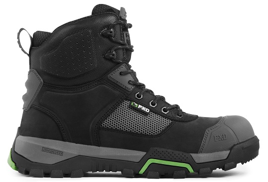 FXD WB-1 Workboot Black outside