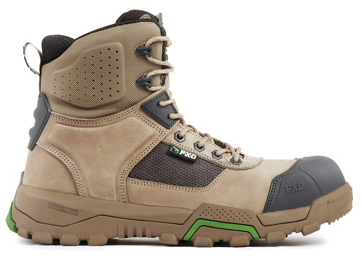 FXD WB-1 WorkBoot Stone outside straight