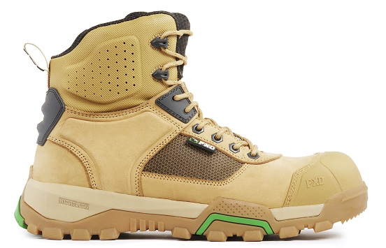 FXD WB-1 Workboot Wheat outside