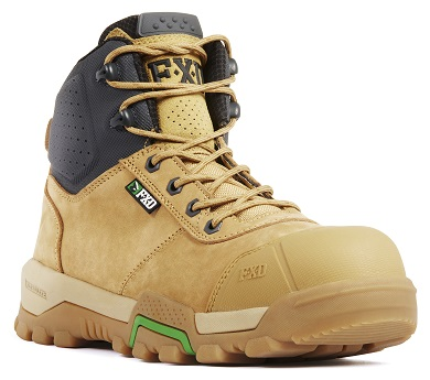 FXD WB-2 Workboot Wheat front
