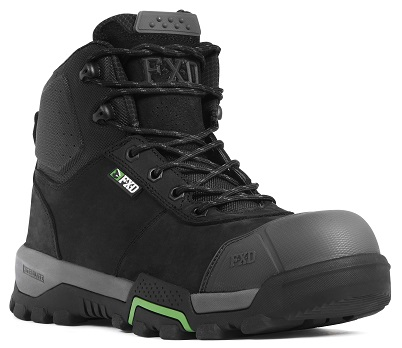 FXD WB-2 Workboot black front