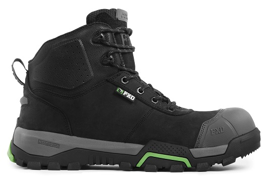 FXD WB-2 Workboot black outside