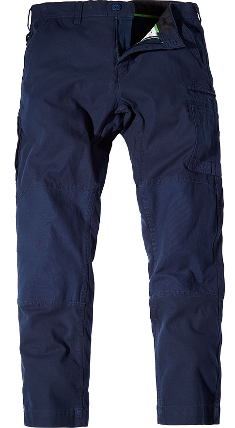 WP3 FXD Mens workwear pants stretch navy front