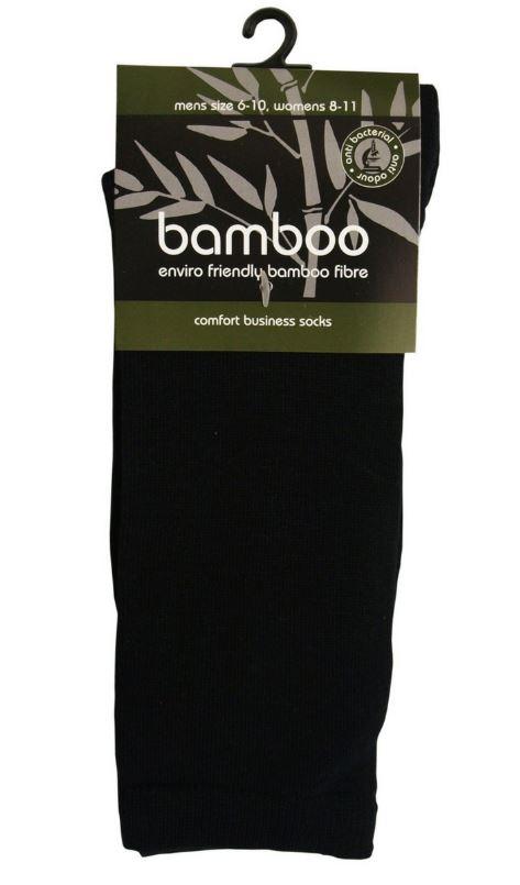 bamboo textiles bamboo comfort business sock black